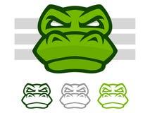Mascotte de crocodile illustration de vecteur