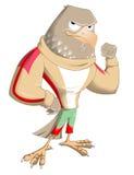 Mascotte de faucon illustration de vecteur