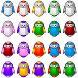 Mascotte 2 de robot Images stock