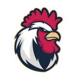 Mascotte 4 de tête de coq de poulet Photo libre de droits