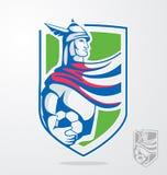 Mascotte de titan Photo stock