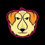 Mascotte del cane Fotografie Stock