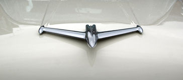 Mascotte del cappuccio del razzo di Oldsmobile Fotografia Stock Libera da Diritti