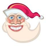 Mascotte del fumetto di Santa Claus Fotografia Stock Libera da Diritti