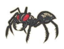 mascotte del fumetto del mostro della formica può usare per il logo di sport Immagini Stock