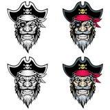 Mascotte del pirata royalty illustrazione gratis