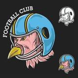 Mascotte del Super Bowl Immagini Stock
