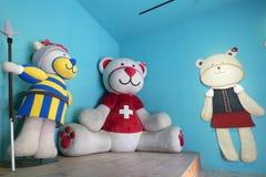 Mascotte dell'orso Immagini Stock Libere da Diritti