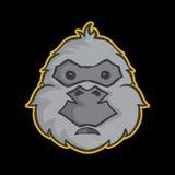 Mascotte della gorilla Fotografie Stock