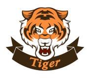 Mascotte della tigre illustrazione vettoriale