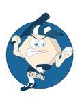 Mascotte di baseball royalty illustrazione gratis