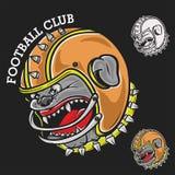 Mascotte di calcio Fotografia Stock