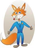Mascotte di Fox Immagine Stock