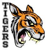 Mascotte di sport delle tigri Immagini Stock Libere da Diritti