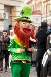 Mascotte du jour de St Patrick Photographie stock
