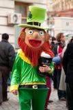Mascotte du jour de St Patrick Photographie stock libre de droits