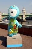 Mascotte olimpica Fotografia Stock Libera da Diritti