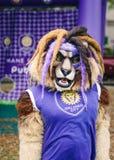 Mascotte per Orlando City Soccer Club fotografie stock libere da diritti