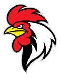 Mascotte principale de poulet illustration de vecteur