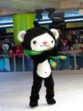 Mascottes 2010, Miga olympiques d'â de Vancouver Images stock