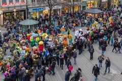 Mascottes Défilé-Nuremberg 2016 de € de Toon Walkâ « Image stock