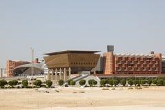 Masdar Institute in Abu Dhabi stock images