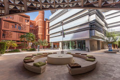 Masdar Institute of Science and Technology. ABU DHABI - DEC 23: View of the Masdar Institute of Science and Technology, Abu Dhabi. December 23, 2014 in Abu Dhabi