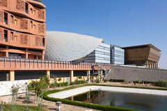 Masdar Institute of Science and Technology Royalty Free Stock Photo