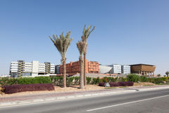 Masdar instytut nauka i technika Zdjęcia Stock