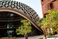 Masdar-Stadt-Universität Stockfotografie