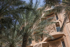 Masdar-Stadtplatz Lizenzfreies Stockbild