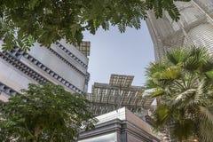 Masdar-Stadtplatz Lizenzfreie Stockfotos