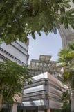 Masdar-Stadtplatz Stockfoto