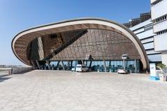 Masdarinstituut in Abu Dhabi Stock Afbeeldingen