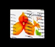 Masdevallia kalejdoskop, kwiat Definitives (3rd serie) canad Zdjęcia Stock