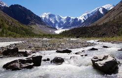 Masej valley - altai mountains russia Stock Photo