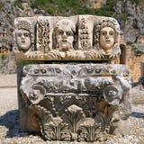 Masek i Lycian grobowowie Zdjęcie Stock