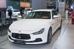 Maserati吉卜力S Q4 免版税库存图片