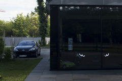 Maserati汽车商店 免版税库存照片