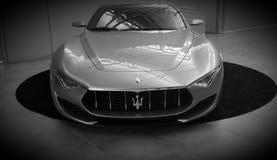 Maserati汽车 免版税库存照片