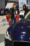 Maserati莫斯科国际汽车沙龙保险费 免版税库存图片