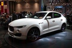 Maserati莱万特SUV 免版税库存图片
