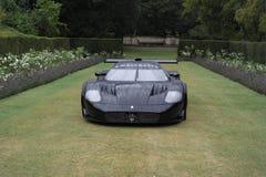 Maserati赛车 库存照片