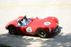 1954年Maserati A6在Mille Miglia的GCS/53 Fantuzzi 库存图片