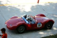 1954年Maserati A6在Mille Miglia的GCS/53 Fantuzzi 免版税库存照片