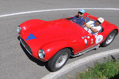 Maserati 1955 - Indicateur argenté 2011 de Vernasca Images stock