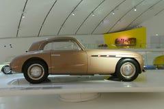 Maserati AG 1500 Pinin Farina. Ferrari museum in Modena presents a 100 years of Maserati celebration expo Stock Photos