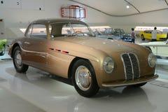 Maserati AG 1500 Pinin Farina. Ferrari museum in Modena presents a 100 years of Maserati celebration expo Stock Images