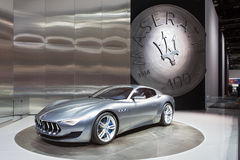 Maserati Alfieri 2015 Detroit Auto Show Royalty Free Stock Photography