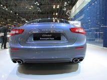Maserati-auto 2015 Internationale toont Auto van New York Stock Afbeeldingen